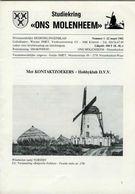 Thema: Molen/moulin - Tijdschrift ONS MOLENHEEM Maart 1982. Voerstreek, Poesele, Oudenaken, Opitter, Hoogstraten Enz. - Tijdschriften