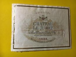 6744 - Château Le Jurat 1986 Saint Emilion - Bordeaux