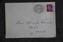 Lettre De POSTES AUX ARMEES ( Double Affranchissement) - N°1536 - Marcophilie (Lettres)