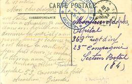 Cpa ARCACHON 33 Casino De La Plage, Cachet Hôpital Complémentaire N° 53 Casino De La Forêt 1915 - Arcachon