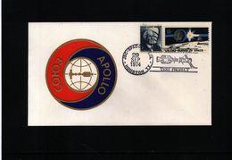 USA 1974 Apollo-Soyuz Test Project Interesting Cover - FDC & Commemoratives