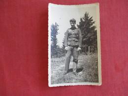 RPPC=  German Soldier   With 2 Medals>  Ref 2830 - War 1939-45
