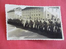 RPPC=  German Soldiers Marching   WW2  Ref 2830 - War 1939-45