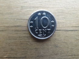 Antilles  Neerlandaises    10  Cents  1979  Km 10 - Antilles Neérlandaises