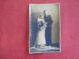 RPPC=  German Soldier Getting Married  WW2  Ref 2830 - War 1939-45