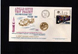 USA 1975 Apollo-Soyuz Test Project Interesting Cover - United States