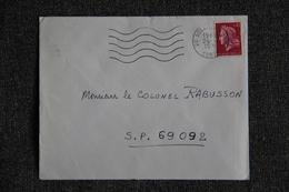 Lettre De SOLENZARA  - N°1583 - Marcophilie (Lettres)