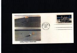 USA 1975 Apollo-Soyuz  Interesting Cover - FDC & Commemoratives