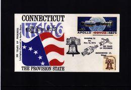 USA 1975 Apollo-Soyuz  Interesting  Cover - United States