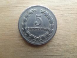 El Salvador  5  Centavos  1963  Km 134 - El Salvador