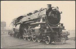 Delaware And Hudson Railway Class P Locomotive, 1944 - HMP Locomotives Des États-Unis Postcard CPSM - Trains