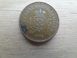 Antilles  Neerlandaises  1  Gulden  2008   Km 37 - Antilles Neérlandaises