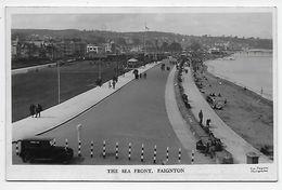 Paignton - The Sea Front - Photograph Cox - Paignton