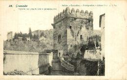 GRANADA TORRE DE LOS PICOS Y GENERALIFE - Granada