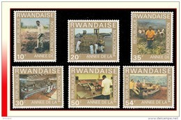 Rwanda 0698/703** Production MNH - Rwanda