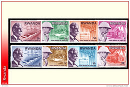 Rwanda 0713/20** Schweitzer   MNH - Rwanda