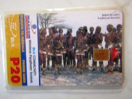 VERY RARE CARD FROM BOTSWANA - Botswana
