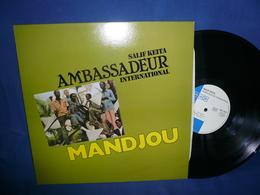 Salif Keita 33t Vinyle Ambassadeur International / Mandjou - World Music