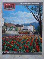 Vie Du Rail 1094 Avril 1967 Tramways Innsbruck Montreal 67 Antibes Nice St Augustin Carnaval Colonie Lesconil Ecole - Trains