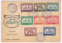 Portugal, 1952, FDC Museu Nacional Dos Coches - Cartas