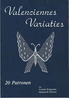 NL.- Reclame Folder Voor Het Boek Valenciennes Variaties. Van Yvonne Krijgsman En Margreet Dirksen. - Reclame