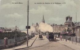 35 / SAINT MALO / LE JARDIN DU CASINO ET LE CHATEAU / CARTE RARE - Saint Malo