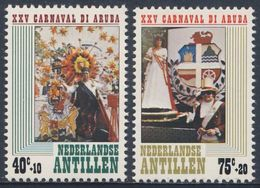 Nederlandse Antillen 1979 Mi 383 /4 ** 25th Ann Aruba Carnival - Carnival Scenes /  Karnevalsszenen - Carnaval