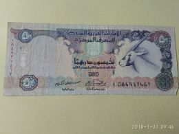 50 Dirhams 2008 - Emirati Arabi Uniti