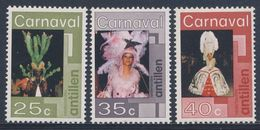 Nederlandse Antillen 1977 Mi 323 /5 ** Women In Carnival Costumes / Kostüme - Karneval In Willemstad, Curaçao - Carnaval