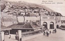 MOORISH MARKET AND CASEMATES GATE. GIBRALTAR. BENZAQUEN & CO-TBE-BLEUP - Gibraltar