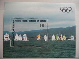 """Comores 1983 N°BL 38 Y&T  """"année Pré Olympique Soling  """"   Neuf 1V - Comores (1975-...)"""