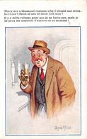 Illustration Comic Comique - Bar Drunk Man Joke - Homme Ivre Blague - Illustrator Donald Mc Gill - Mc Gill, Donald
