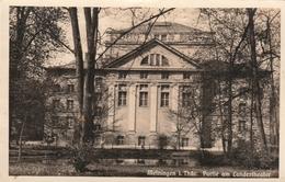 Meiningen I.Thür.-Partie Am Landestheater - Germania