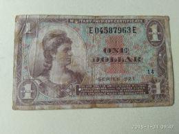 1 Dollaro - 1954-1958 - Series 521