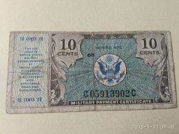 10 Cent - Military Payment Certificates (1946-1973)
