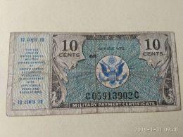 10 Cent - Certificati Di Pagamenti Militari (1946-1973)