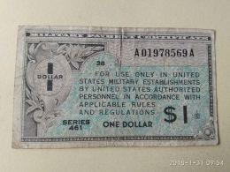 1 Dollar - Certificati Di Pagamenti Militari (1946-1973)