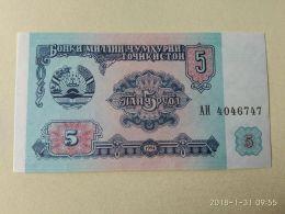 5 Rubli 1994 - Tadzjikistan