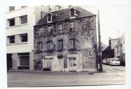"""Carte-photo Le Bar """"Au Feu Vert"""" Sur Le Port De Granville - Années 80 - Manche - Normandie - Repro's"""