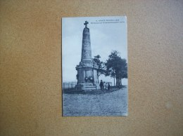 Carte Postale Ancienne De Pont-Noyelles: Monument Commémoratif 1870 - France