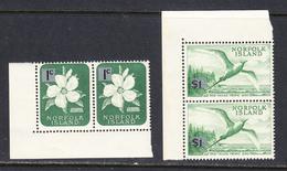 Norfolk Island 1966 Mint No Hinge, See Notes, Sc# 71a,82a,  SG 60a,71a - Norfolk Island