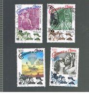 ITALIA REPUBBLICA  - UNIF. 2216.2219  -   1995 CINEMA ITALIANO                        -            USATO - 6. 1946-.. Repubblica
