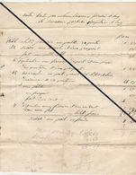 Facture De 1848 Huy Loiseaux Serrurier - Belgium