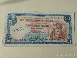 50 Pesos 1939 - Uruguay