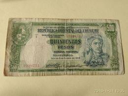 500 Pesos 1939 - Uruguay