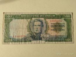 500 Pesos 1967 - Uruguay