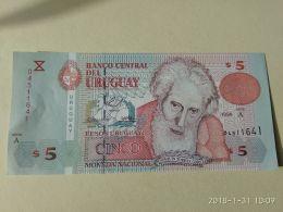 5 Pesos 1998 - Uruguay
