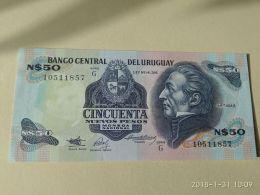 50 Pesos 1987 - Uruguay