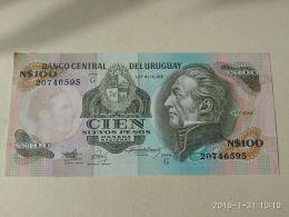 100 Pesos 1987 - Uruguay