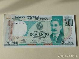 200 Pesos 1987 - Uruguay